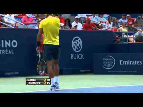 Jerzy Janowicz vs Rafael Nadal 3R Montreal 2013