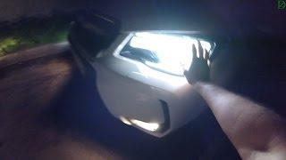 Subaru Forester XT - Ночной обзор (60p)