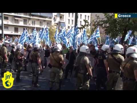 Golden Dawn Arrests: Greek police arrest leaders of extreme-right party amid protests