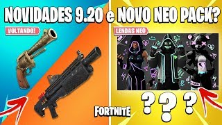 FORTNITE-NEW PACK LEGENDS NEO, REVOLVER COMING BACK and HEAVY SHOTGUN!
