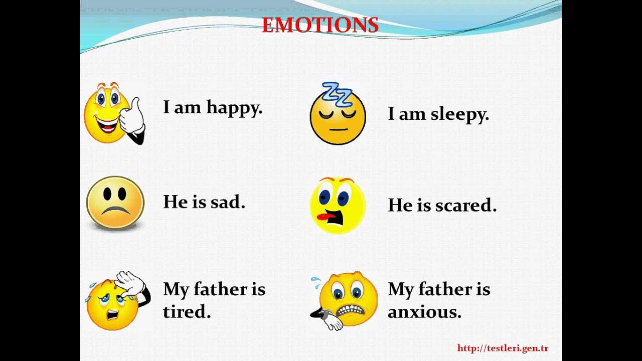 6 Sinif Unit 4 Weather And Emotions