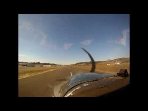 Oceanside Airport Landing- Cessna-Pilot View-OCN-KOKB