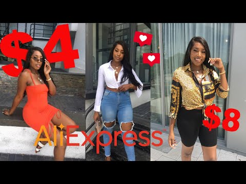 HUGE 2019 Baddie On A Budget AFFORDABLE Aliexpress Try-On Haul