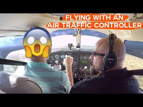 Flying with an Air Traffic Controller. What does he think about pilots?