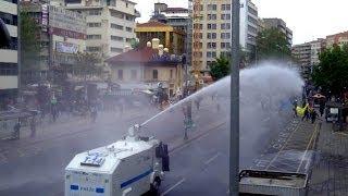 Ankara'da 1 Mayıs TOMA'lamacası - BBC TÜRKÇE