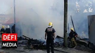 Port-Louis : un chien sauvé d'un incendie par les pompiers