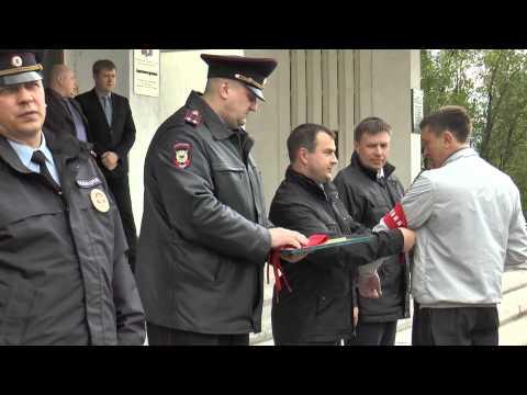 В городе Мончегорске Мурманской области народным дружинникам вручили официальные удостоверения
