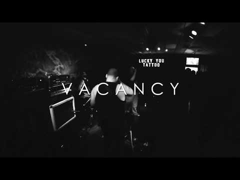 """VACANCY """"Pulled Under"""" live at Lucky You Tattoo (St. Pete, FL)"""
