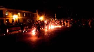 Pokaz Fire Show Grupy UTOPIA + ILUZJA. Rynek Wodny, Zamość 27.08.2011