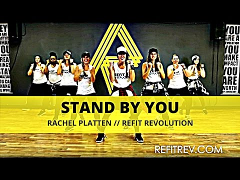 """Stand By You"" || Rachel Platten || Dance Fitness Choreography || REFIT® Revolution"