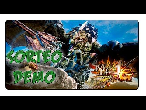 SORTEO CLAVES DEMO MONSTER HUNTER 4 ULTIMATE