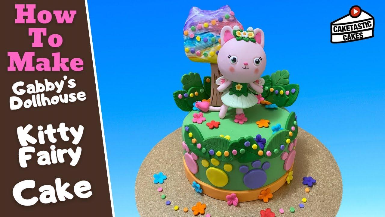 Download Gabby's Dollhouse Kitty Fairy Cake Tutorial Video