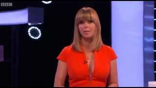 Stunning Kate Garraway on the National Lottery 6 4 14
