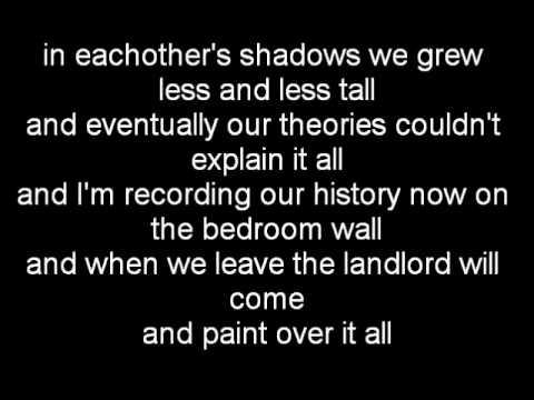 Both Hands Ani Difranco Lyrics on the screen