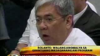 Balita 36_arroyo Has Nothing To Do With Fertilizer Fund Scam