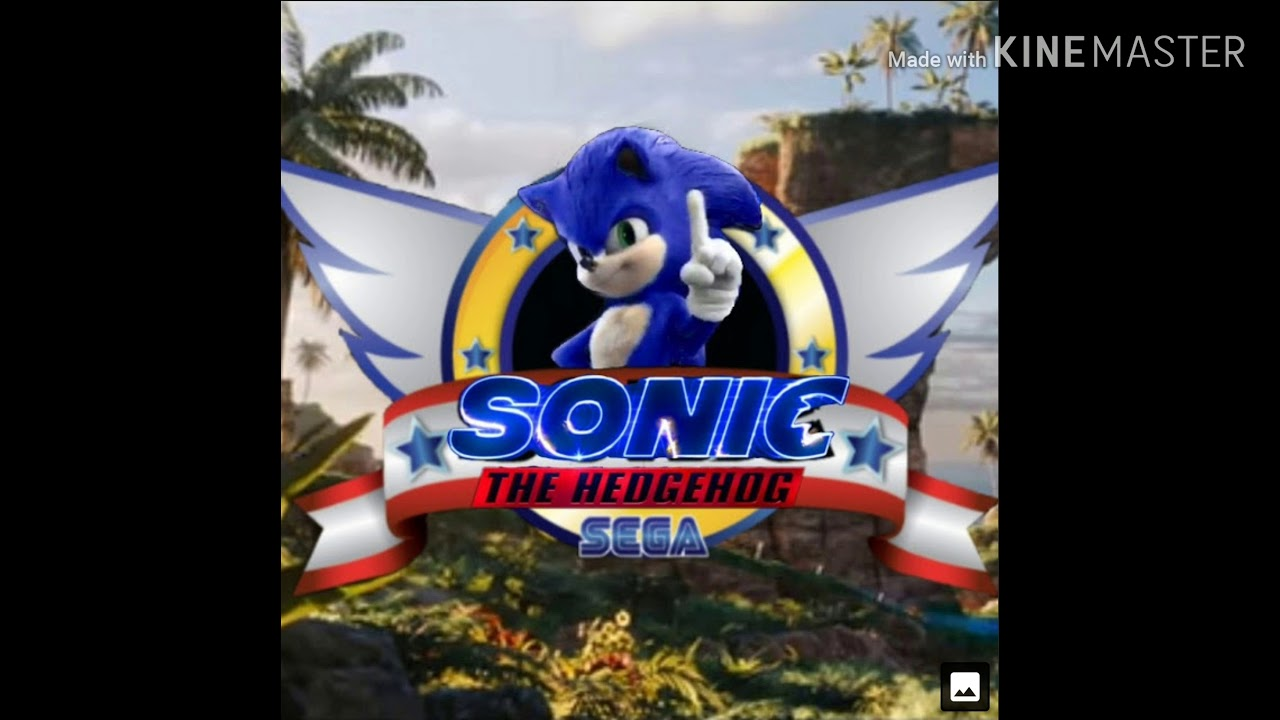 New Sonic Movie Title Screen Youtube