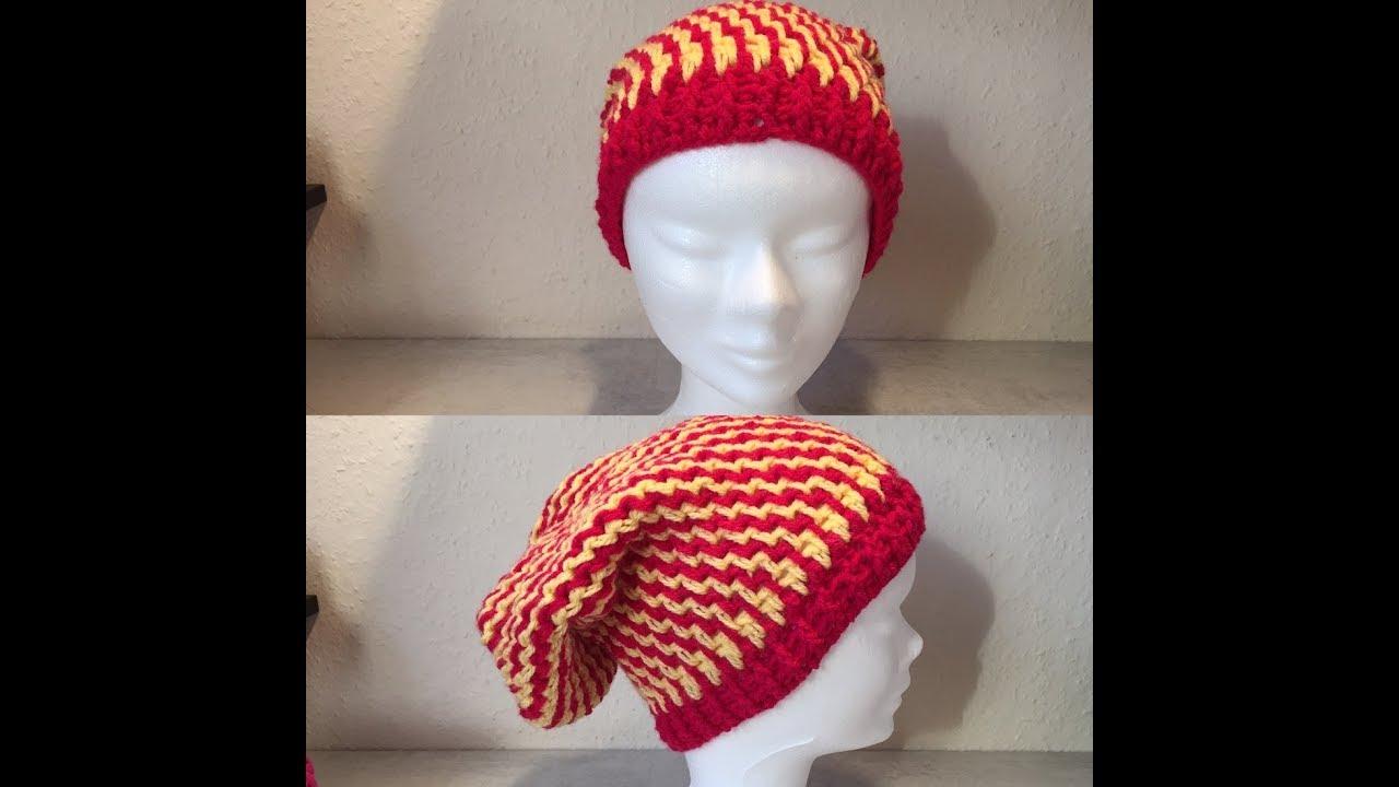 80199a7ec165 Tuto bonnet au crochet - YouTube