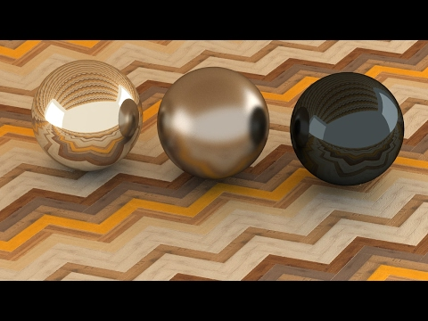 3ds Max Vray Realistic Nikel Polished - Nikel Satin - Black Nikel Polished Material