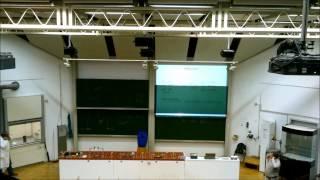 Stickstoffexplosion in der Vorlesung