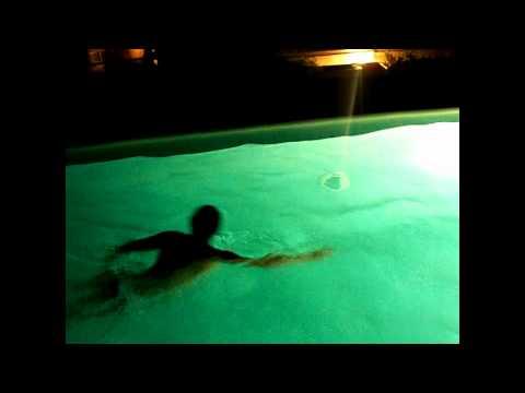 Olimp, bazen na krovu
