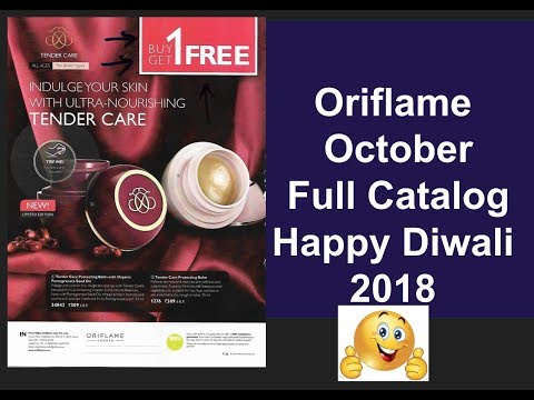 Oriflame October Full Catalog 2018 HD All Pages