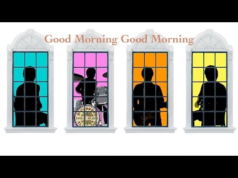 Good Morning Good Morning ~ Sgt. Pepper (Reprise) ~ A Day In The Life - The Beatles karaoke cover