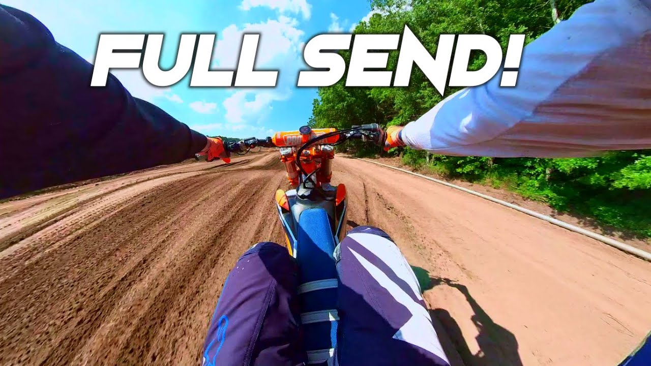 WIDE OPEN SAND TRACK!! Scary Fast - Letting it Hang Out!