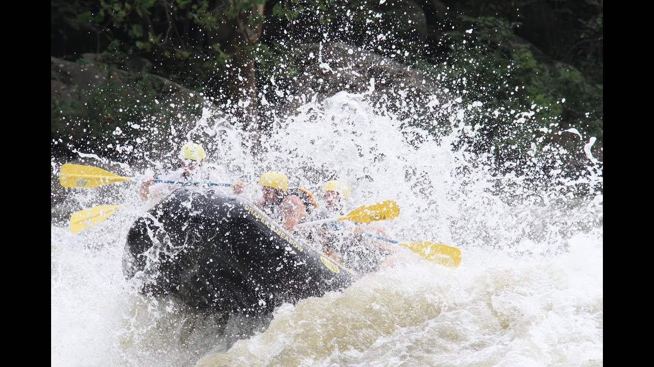New River White Water Rafting Ace Adventure Youtube