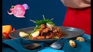 Салат из морской капусты с мидиями — Все буде добре. Выпуск 42 от 21.05.18