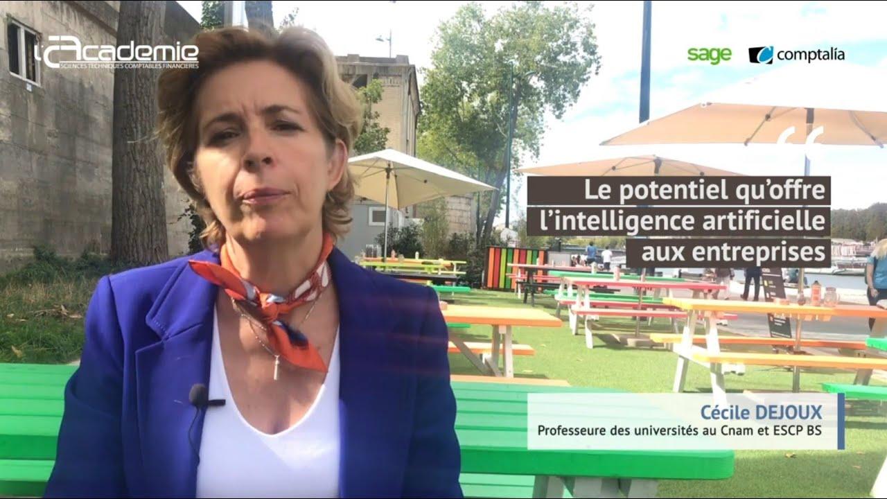 Entretiens de l'Académie : Cécile Dejoux