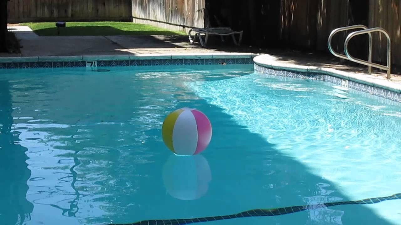 Beach Ball In E S Swimming Pool Youtube
