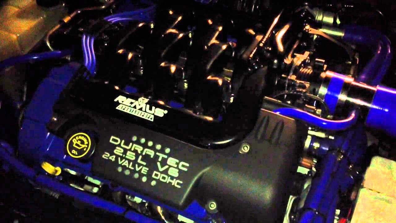 Ford Tuned Duratec V6 Startup - YouTube