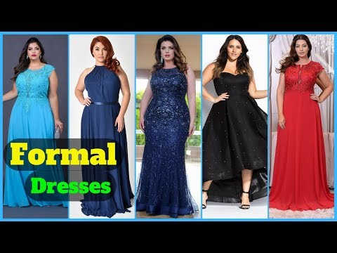 Women's plus size formal party dresses collection