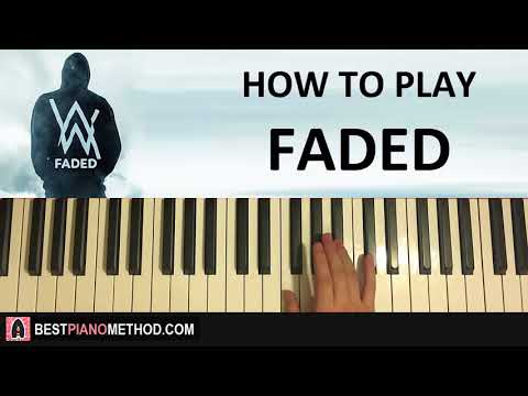 HOW TO PLAY – Alan Walker – Faded (Piano Tutorial Lesson)