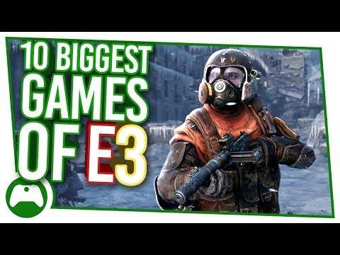 10 Biggest Xbox Games To Get Hyped For At E3 2018!