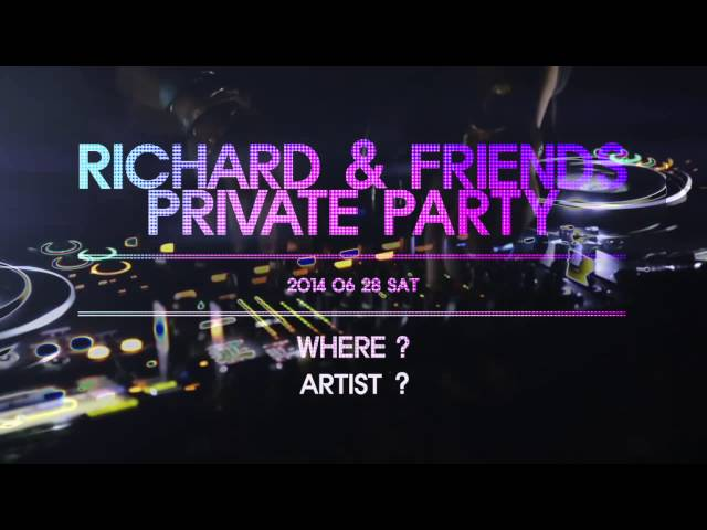 Richard & Friends Private Party 2014 Teaser