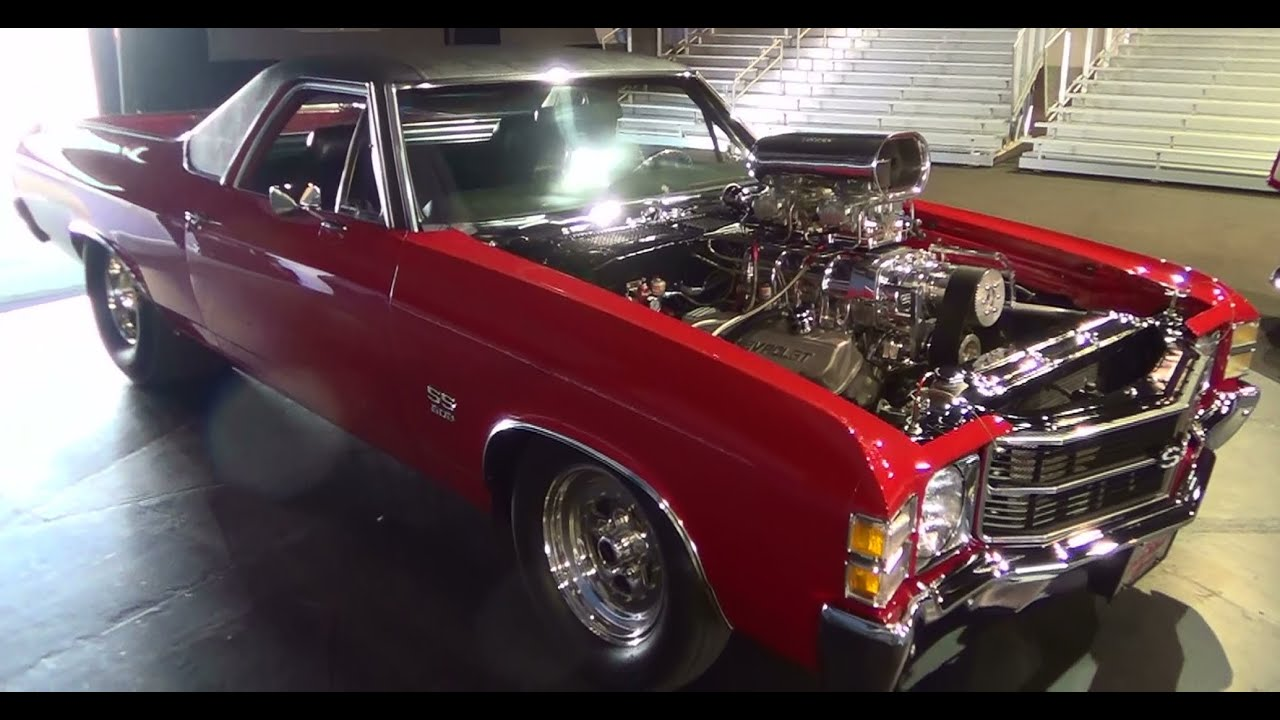 1971 El Camino Pro Street Scottiedtv Traveling Charity Road Show 1954 Chevy 2014