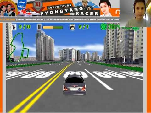 Must play Pyongyang Racer - North Korean game Part 1