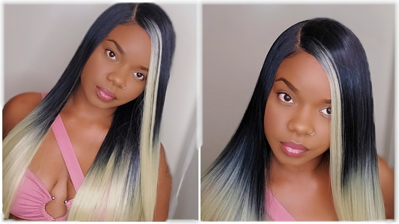 Blonde Lace Frontal Customize Wig Start To Finished Shalom
