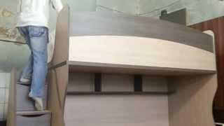 Двуспальная кровать-чердак: фото, видео, отзывы