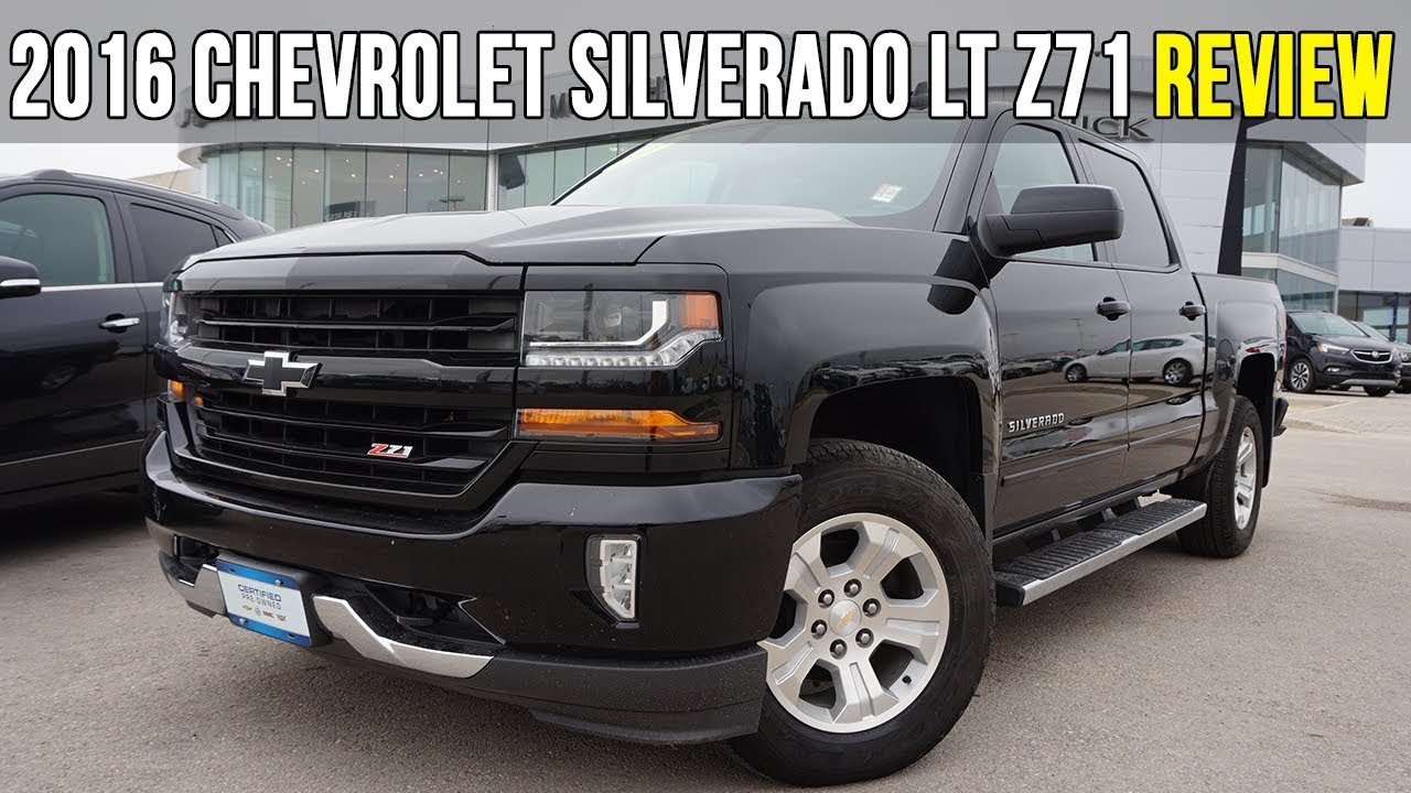 2016 Chevrolet Silverado 1500 LT | Z71 Off-Road Package ...