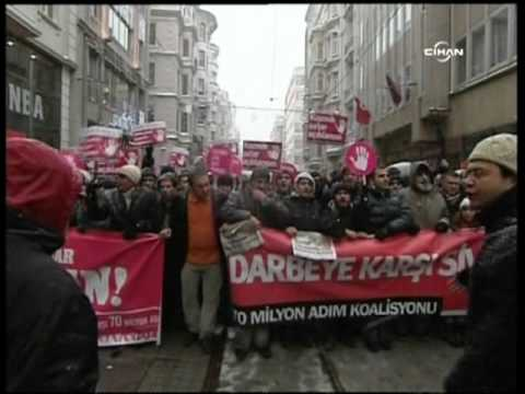 Thousands Gather For Protest In Turkey