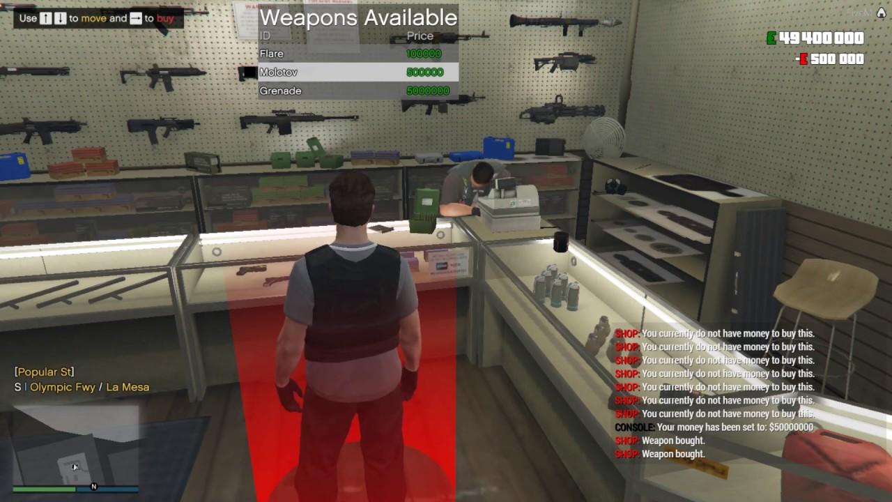 Fivem weapon shop