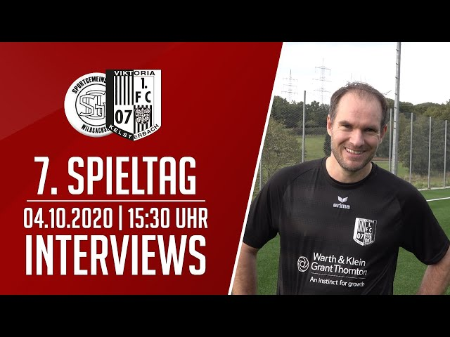 SG Wildsachsen - Viktoria Kelsterbach   Interviews   04.10.2020