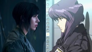 [Сравнение]Призрак в доспехах Аниме vs. Фильм / Ghost in the Shell Anime vs. Movie