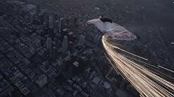 Vermeintlich brennender Himmelskörper über LA: PR-Aktion von Red Bull zum Supermond