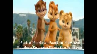 Chipmunks Sing n Dance in Tamil, Paattu Padava   with lyrics