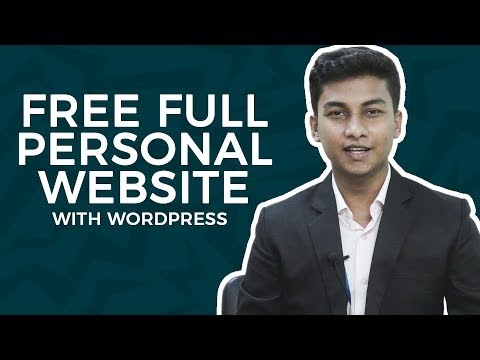 Create Your Free Personal Website | Full Tutorial