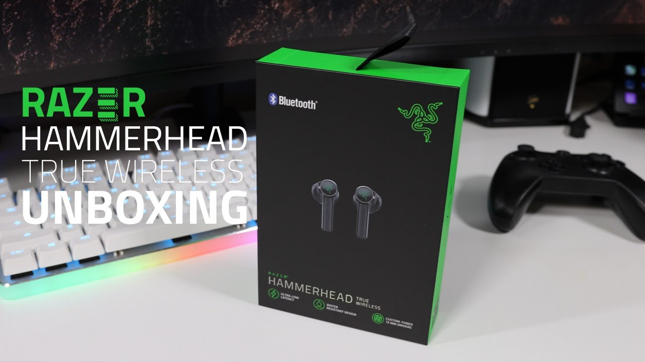 Razer Hammerhead True Wireless Unboxing First Impressions Youtube