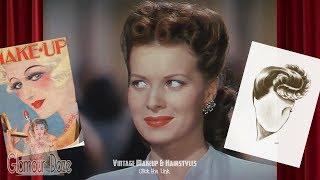 Vintage Makeup & Hairstyle Tutorials